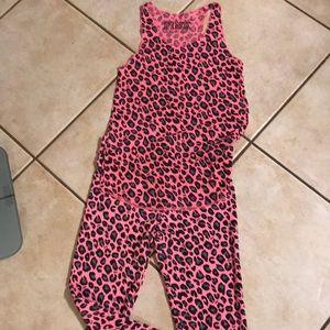 VS Pink pajama leggings and tank